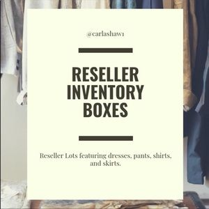 Reseller Inventory Boxes